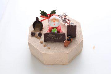 2020年クリスマス 限定   カフェ・ショコラ5号(八角形)
